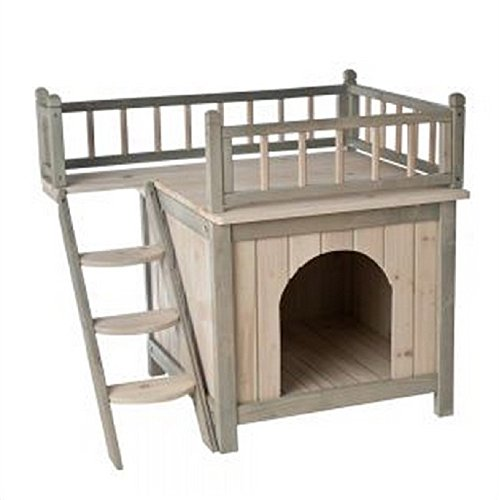 Indoor Wooden Cat House - Pawsify