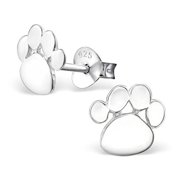 10 Of The Cutest Paw Print Earrings Pawsify