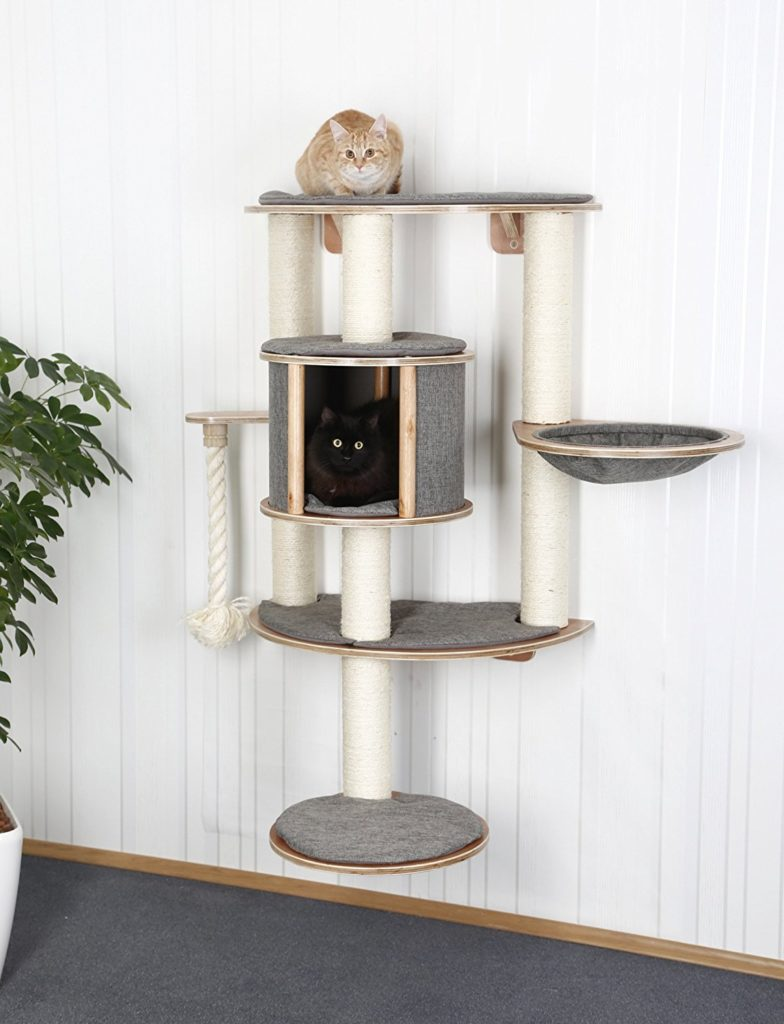 Kerbl Dolomit Tofana Pro Wall Mounted Cat Tree Pawsify