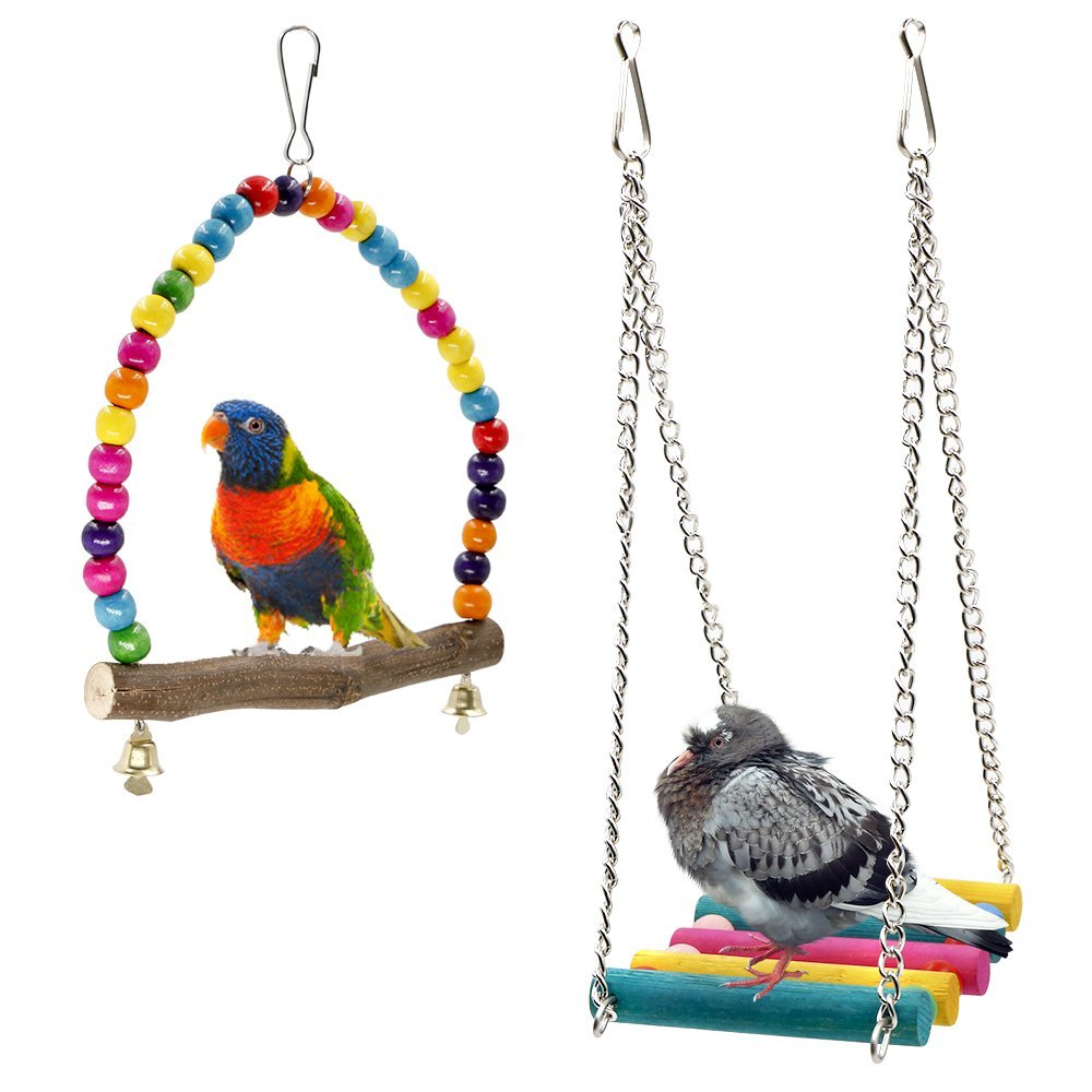 Parakeet Toys And Accessories : Funky toys that will entertain your bird pawsify