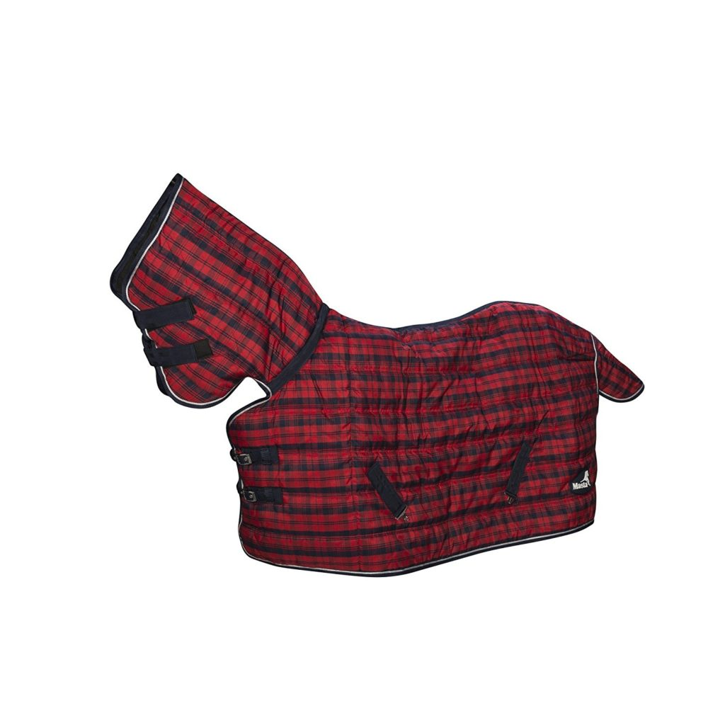 Masta Quiltmasta 350gram Heavyweight Fixed Neck Le Horse