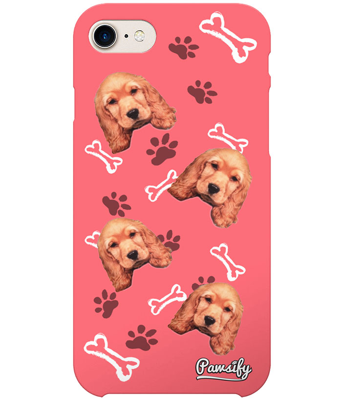 competitive price 662f8 3f23c Personalised Dog Phone Case