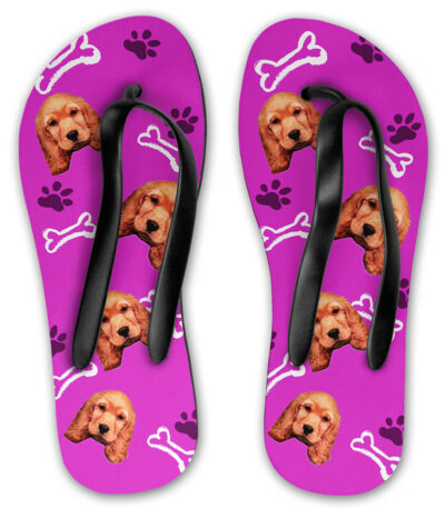 fe2423d99973 Personalised Dog Flip Flops - Pawsify