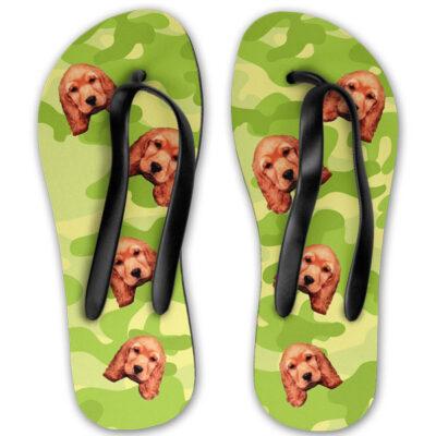 b33772a21766 Personalised Dog Camo Flip Flops - Pawsify